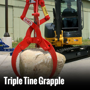 Triple Tine Grapple