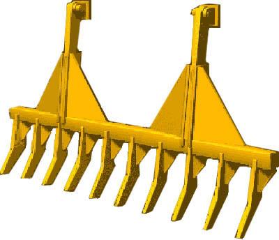 how to use a free wheel rake