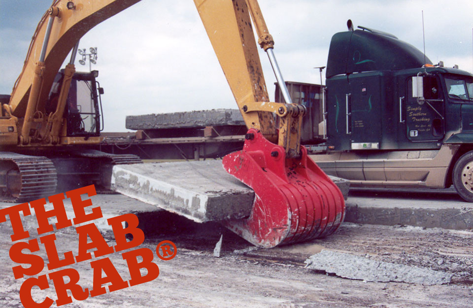 Slab Crab removes concrete deck slabs and more