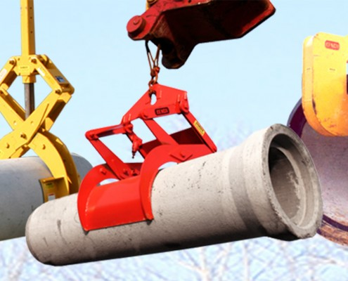 pipe lifting attachments