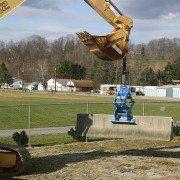 KL12000 in yard demonstration