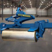 ML8 custom legs to lift aluminum cylinders