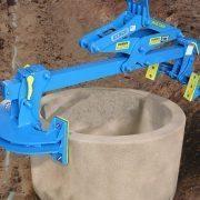 ML8K custom legs for round culvert
