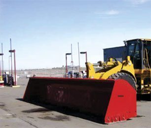 WHEEL LOADER SNOW PLOWS & BLADES