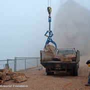 Crazy Horse in the Fog Using the Rocklift