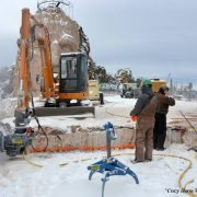 Kenco Rocklift in the Winter at Crazy Horse Memorial
