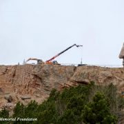 Crazy Horse Monument Full View of Rocklift