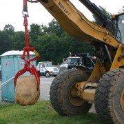 Crawler Excavator Using the Kenco Rocklift