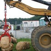 Moving Boulders at the Jobsite with the Rocklift