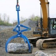 Kenco Rocklift Grabs Rock Tightly