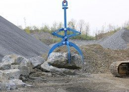 Kenco Rocklift Lifts Irregular Shaped Boulders