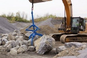 Rock Quarry Moving Boulders