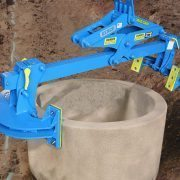 ML8K custom legs for round culvert