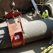 Pipe Lift Overhead View