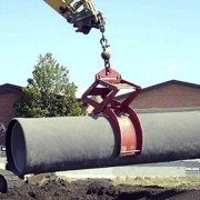 Pipe Lift Grips RCP Securely the First Time