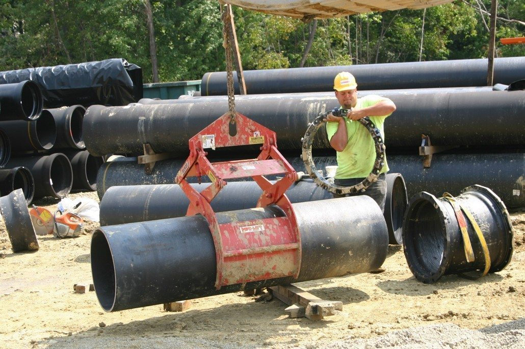 Wright Moving Individual Pipe Section