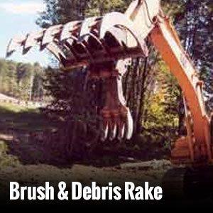 Brush & Debris Rake