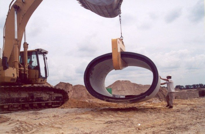 Mechanical Pipe Hook Moving Elliptical Pipe