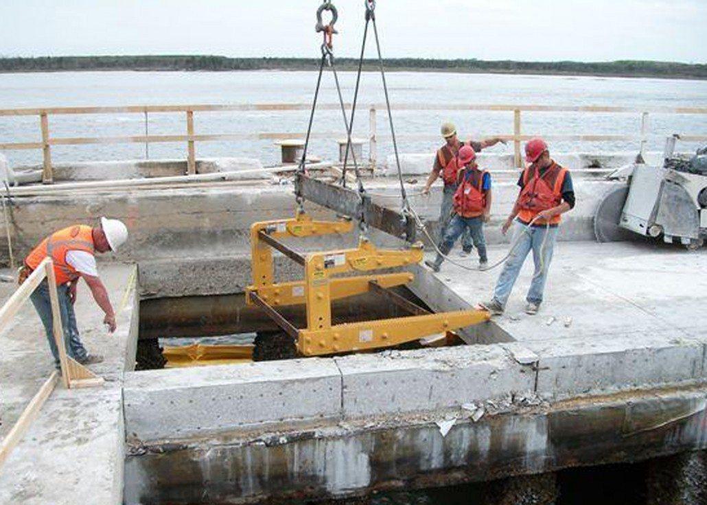 Concrete Slab Lifting : Concrete slab lifting equipment lifter