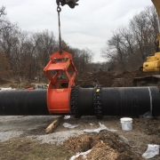 "Moving 36"" water main"