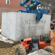 World War Memorial Installation