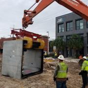 Moving Large Culvert Box
