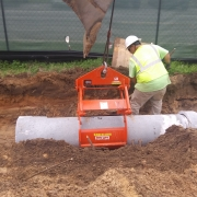 15 inch concrete pipe project