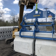 Kenco long lift moving barrier