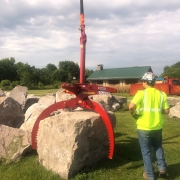 Triple Tine Rock Grab 6 Ton