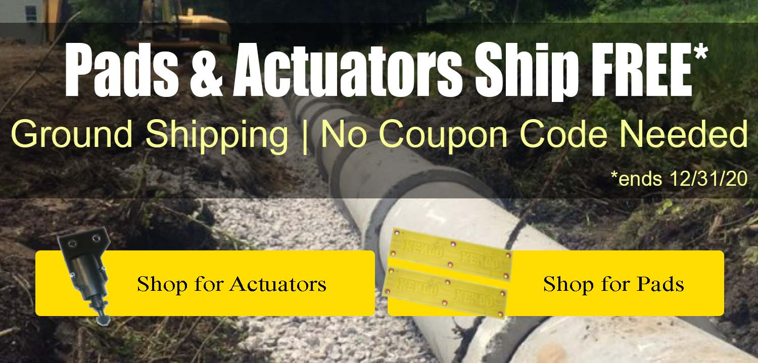 Pads and Actuator Promo