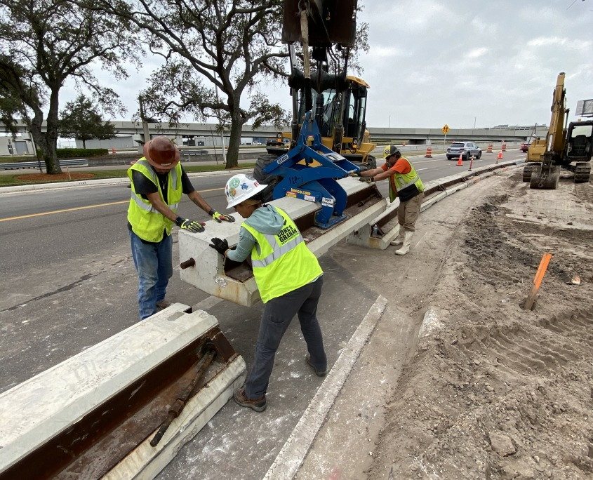 Florida Low Profile Curbing