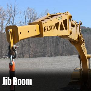 Jib Boom Extends Reach of Machine