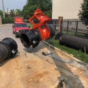 pipe lift in action